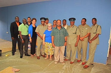 Prison Reading Project with Commissioner of Prisons